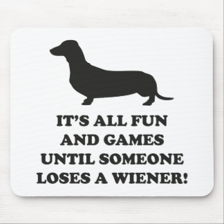 It's All Fun And Games Mouse Pad