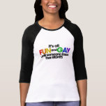 It's all fun and gay rights tee shirts