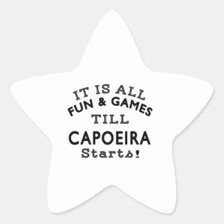 It's All Fun & Games Till Capoeira Starts Sticker