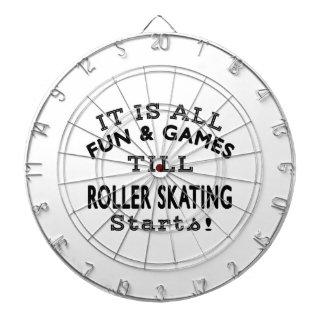 It's All Fun & Games Till Roller Skating Starts Dartboards