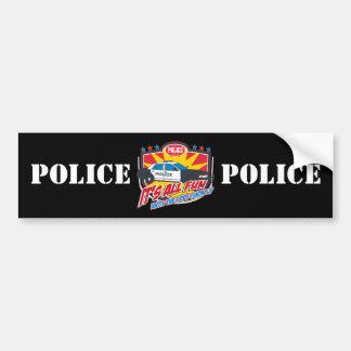 Its All Fun Police Bumper Sticker