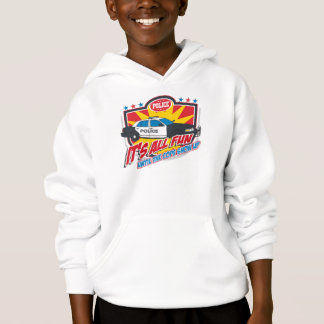 Its All Fun Police Hoodie