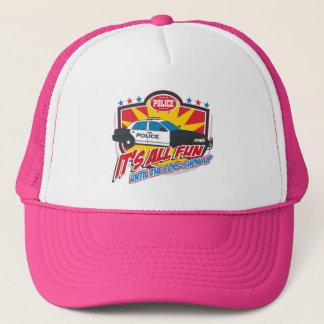 Its All Fun Police Trucker Hat