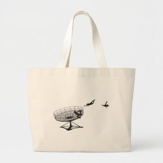 It's all fun until... large tote bag