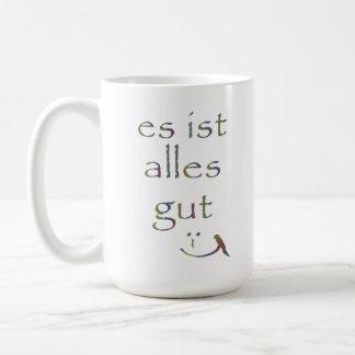 """It's all good"" Classic White Coffee Mug"