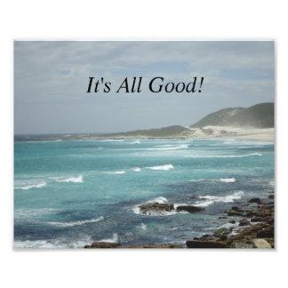 It's All Good SA Seascape1 Photo Print