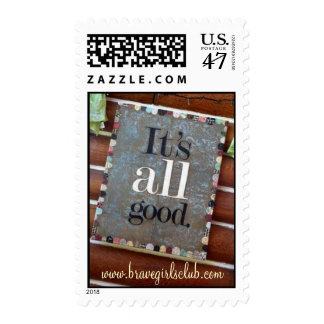 'It's All Good' Stamps