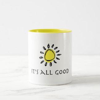 It's All Good Sunshine Mug