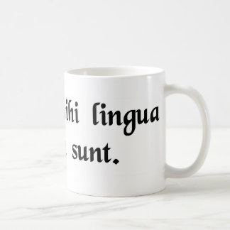 It's all Greek to me. Coffee Mug