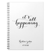 It's All Happening Wedding Planning Journal