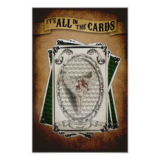 It's all in the Cards Poster