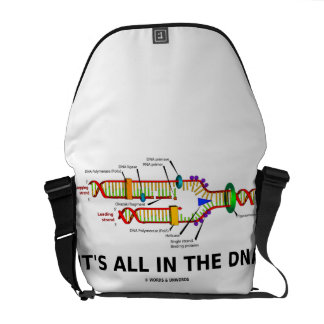 It's All In The DNA (DNA Replication) Courier Bag