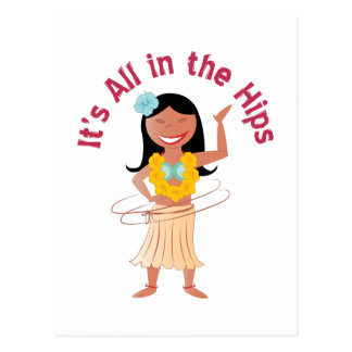 It's All In The Hips Postcard