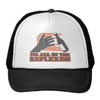 It's All In The Reflexes Trucker Hat