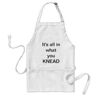 'It's all in what you Knead' Adult Apron