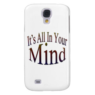 It's All In Your Mind rnbw Samsung Galaxy S4 Cover