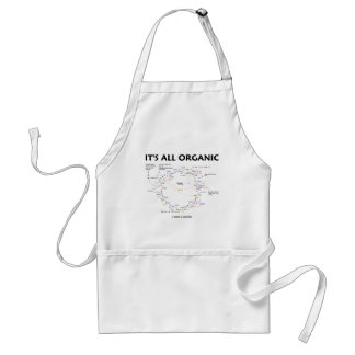 It's All Organic (Krebs Cycle / Citric Acid Cycle) Adult Apron
