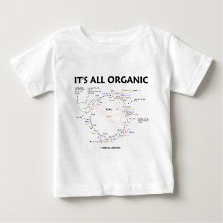 It's All Organic (Krebs Cycle / Citric Acid Cycle) Baby T-Shirt