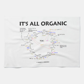 It's All Organic (Krebs Cycle) Hand Towel