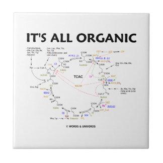 It's All Organic (Krebs Cycle Humor) Tile