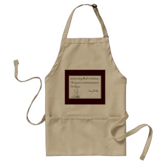It's all perspective.... adult apron
