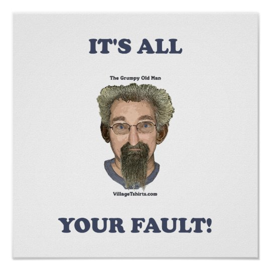 It's All Your Fault Poster