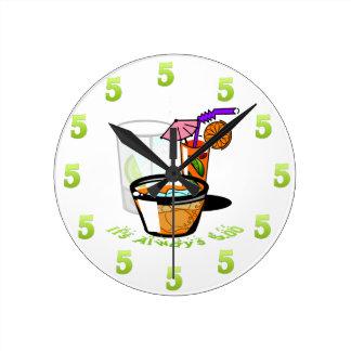 It's Always Five O'Clock Wall Clock