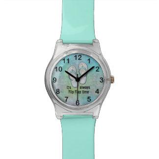 It's always Flip Flop Time Watch