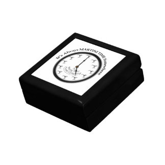 IT'S ALWAYS MARTINI TIME SOMEWHERE GIFT BOX