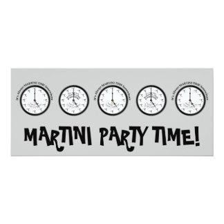 IT'S ALWAYS MARTINI TIME SOMEWHERE INVITATION