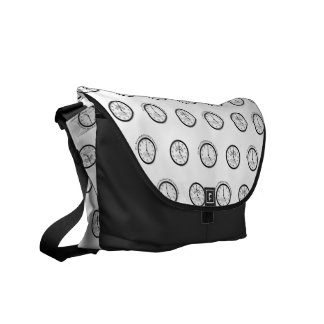 IT'S ALWAYS MARTINI TIME SOMEWHERE MESSENGER BAG