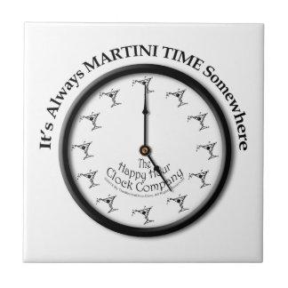 IT'S ALWAYS MARTINI TIME SOMEWHERE TILE