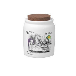It's Always Tea Time Candy Jars