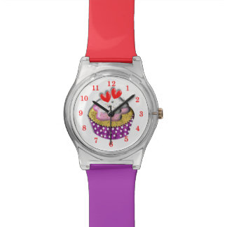 It's Always Time For A Cup Cake Cute Wrist Watch