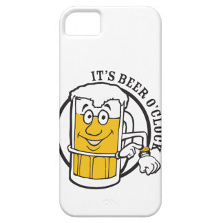 It's always time for Beer- Beer O'clock iPhone SE/5/5s Case