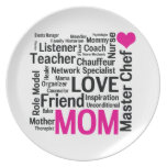 It's Amazing What Moms Can Do! Mothers Day Gift Party Plates