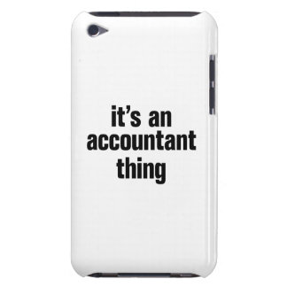 its an accountant thing iPod touch cases