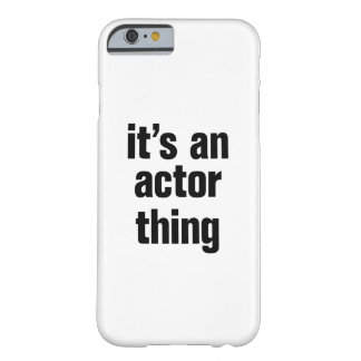 its an actor thing barely there iPhone 6 case