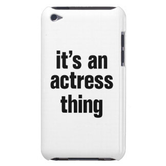 its an actress thing barely there iPod covers