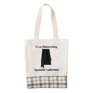 It's An Alabama Thing Zazzle HEART Tote Bag