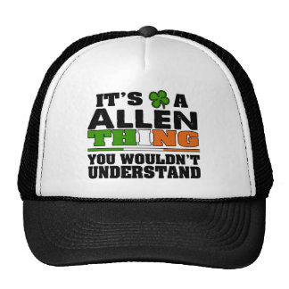 It's an ALLEN Thing You Wouldn't Understand. Trucker Hat