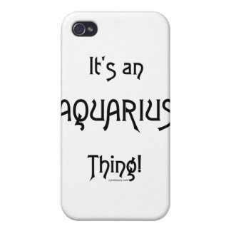 It's an Aquarius Thing! Cases For iPhone 4