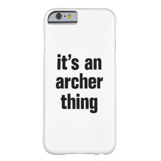 its an archer thing barely there iPhone 6 case
