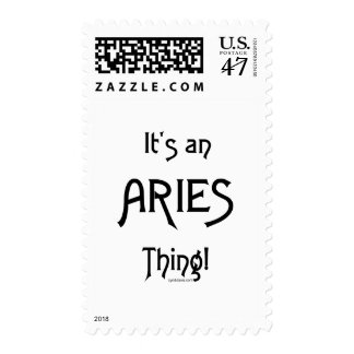 It's an Aries Thing Postage