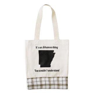 It's An Arkansas Thing Zazzle HEART Tote Bag