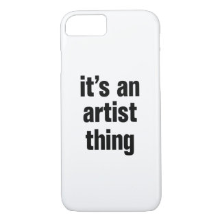 its an artist thing iPhone 8/7 case