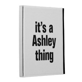 its an ashley thing iPad folio cases