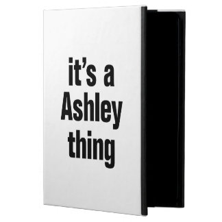 its an ashley thing cover for iPad air