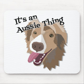 It's an Aussie Thing Mouse Pad
