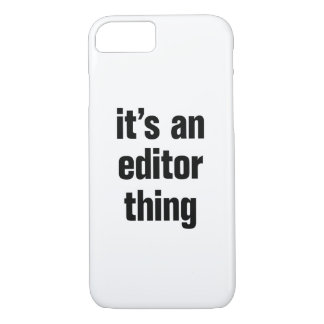 its an editor thing iPhone 8/7 case